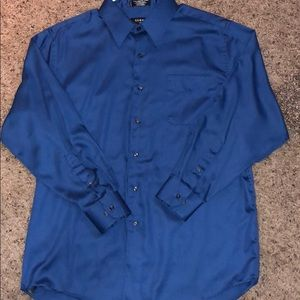 George Sateen Button Down